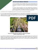 Cambios en las líneas férreas