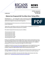 Obama Proposed 442 Tax Hikes Full List