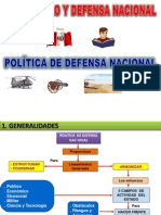 3. Politica de Defensa Nacional