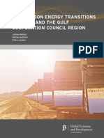 Low Carbon Energy Transitions in Qatar and the GCC