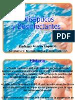 antisepticos y desinfectantes