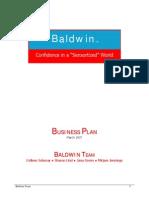 Baldwin Business Plan