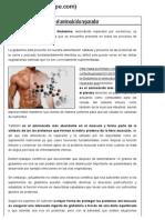 Beneficios de la Glutamina el aminoácido reparador - Punto Fape.pdf