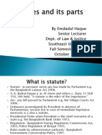 Statutes and its parts.ppt