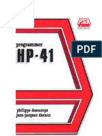 Programmer HP41