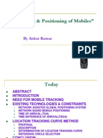 Tracking Positioning of Mobiles