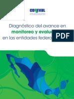 Diagnostico Del Avance en Monitoreo y Evaluacion de Las Entidades Federativas 2011