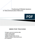 Tracking and Positioning of Mobile Systems in Telecom Network