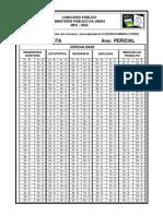 Gabarito MPU Analista-Area Pericial Eng Sanitaria Estatist