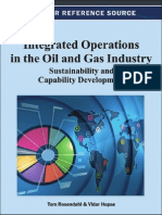 Integrated Operations in the Oil and Gas Industry Sustainability and Capability Development