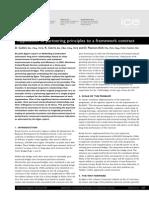 Application of Partnering Principles