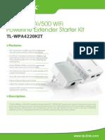 Tl-wpa4220kit(Eu v1 Datasheet