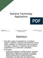 Assistive techology pre