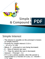 Simple Interest and Compound Interst