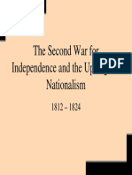 12 - The Second War for Independence and the Upsurge of Nati