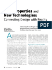 Fluid Properties and New Technologies Connecting Design With Reality