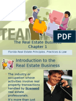 Chapter 1 the Real Estate Business