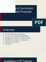 tc proposal