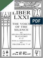 A Voz Do Silencio Os Dois Caminhos Os Sete Portais Comentados Por Mestre Therion