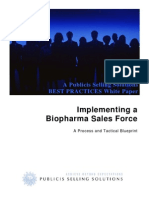 Implementing a Sales Force