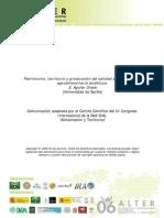 AGUILAR - PATRIMONIO, TERRITORIO Y PRODUCCIÓN DE CALIDAD