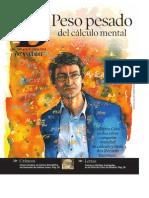 Alberto Coto, peso pesado del cálculo mental (2008)