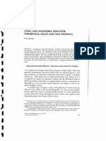 Lying and Nonverbal Behavior Theoretical Issues and New Fin