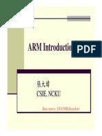 3 ARM Introduction