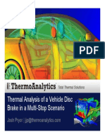 Brake Analysis-Temperature Approach