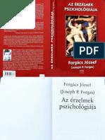 Forgács József - Az érzelmek pszichológiája