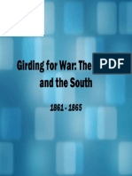 20 - Girding for War, The North and the South, 1861 - 1865