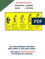 aula inicial NOÇÕES DE ANTROPOLOGIA