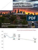 Setting a Long-Term Carbon Reduction Goal for Minneapolis HECE 4-14-14