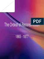 22 - The Ordeal of Reconstruction, 1865 - 1877