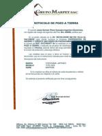Protocolo de Pozo a Tierra 2013 -2