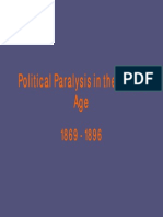 23 - Political Paralysis in the Gilded Age, 1869 - 1896