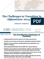 140410 Transition in Afghanistan