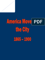 25 - America Moves to the City, 1865 - 1900