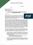 Letter to Mark Duebner City Aviation