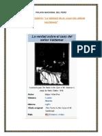 anaisis de la obra el caso del señor Valdemar