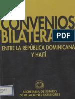 Convenios Bilaterales RD-Haiti