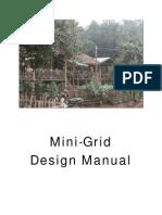 82150672 Mini Grid Design Manual Partie1