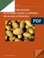 Seguridad Alimentaria en Ecuador Desde Un Enfoque de Acceso a Al