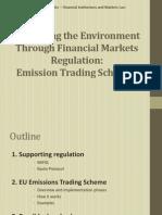 Emission Trading Schemes