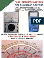 Tehnici Citire Marimi Electrice