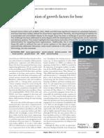 Growth Factor for Bone Regeneration