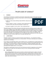 Costco_Supplier Code of Conduct