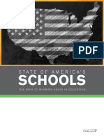 Gallup Report -- State of Americas Schools