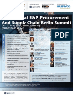Global E&P Procurement Berlin