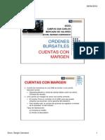 0.1 Ordenes Bursatiles - Cuentas Con Margen